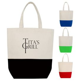 Promotional Tote-And-Go Canvas Tote Bag