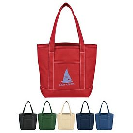 Customized Small Cotton Canvas Yacht Tote Bag