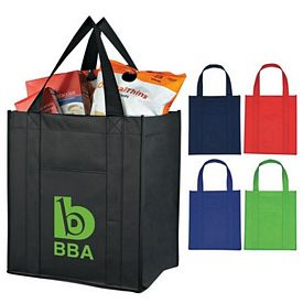 Custom Matte Laminated Non-Woven Shopper Tote Bag