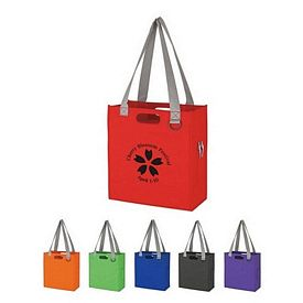Custom Non-Woven Expedia Tote Bag