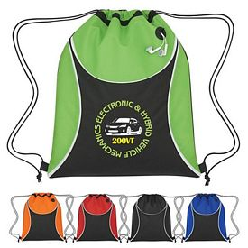 Promotional Verge Non-Woven Drawstring Sports Pack