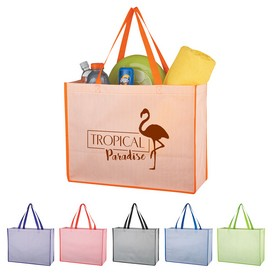 Customized Matte Laminated Bahama Tote Bag