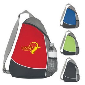 Promotional Fun Style Adjustable Sling Backpack