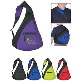 Promotional Fun Style Budget Sling Backpack