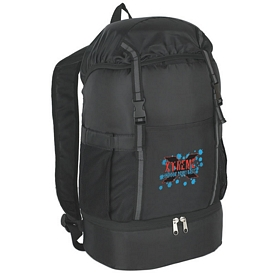 Promotional Fun Style Sports Backpack with Insulated Bottom