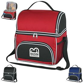 Promotional Two Compartment Excursion Kooler Bag