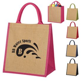 Promotional Escape Jute Tote Bag