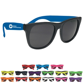 Promotional Rubberized Promotional Sunglasses