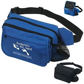 Customized Deluxe Multi-Pack Fanny Pack