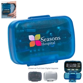 Promotional Multi-function Pedometer with Clock
