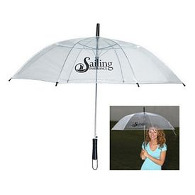Promotional 46 Arc Clear Umbrella