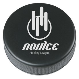 Custom Hockey Puck Shape Stress Reliever