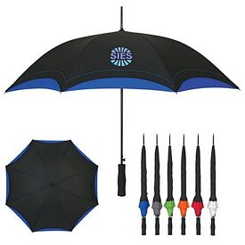 Promotional 46 Double Layer Arc Umbrella