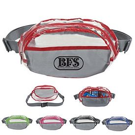 Custom Clear Adjustable Waist Fanny Pack