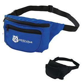 Promotional Deluxe Two Pocket Fanny Pack