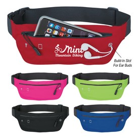 Custom Lycra Running Belt Fanny Pack