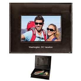 Customized Leatherette Photo And Memory Box