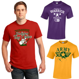 Customized Gildan 5000 Adult Heavy Cotton Cotton T-Shirt
