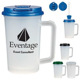 Promotional 22 Oz Double Wall Tumbler With Handle