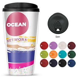 Customized 24 Oz Thermoserv Travel Tumbler