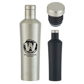 Custom 18 Oz Dwindle Stainless Steel Bottle