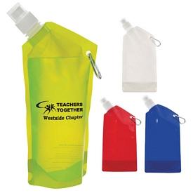 Promotional 28 oz Collapsible Bottle