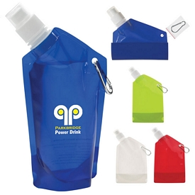 Promotional 12 oz Collapsible Bottle