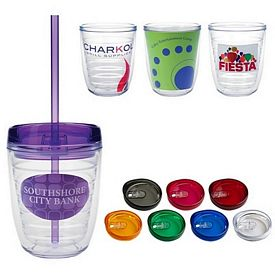 Promotional 12 Oz Tritan Double Wall Tumbler