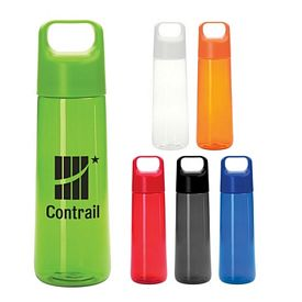 Promotional 28 Oz Round Easy Carry Bottle