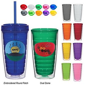 Customized 16 Oz Tritan Colored Double Wall Tumbler