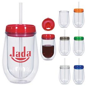 Promotional 10 Oz On The Go Beverage Tumbler
