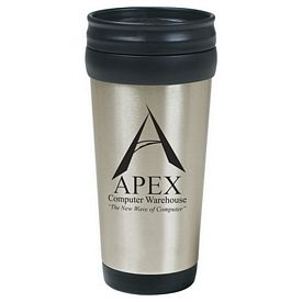 Promotional 16 Oz Stainless Steel Tumbler With Slide Action Lid