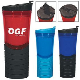 Promotional 16 Oz Double Wall Gripper Bottle