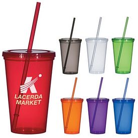 Promotional 20 Oz Economy Single Wall Tumbler