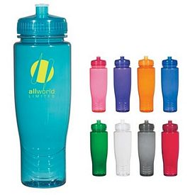 Custom Poly-Clean 28 Oz Plastic Bottle