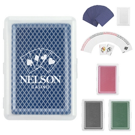 Promotional Travel Playing Cards In Case