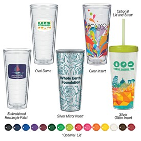 Customized Tritan 22 Oz Swirl Double Wall Tumbler
