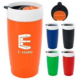 Promotional 16 Oz Two-Tone Tumbler
