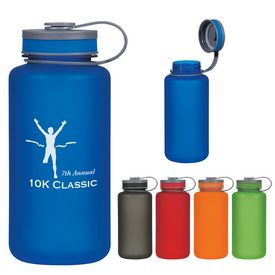 Customized 32 Oz Tritan Hydrator Wide Mouth Sports Bottle