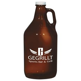 Custom 64 Oz Amber Malt Growler