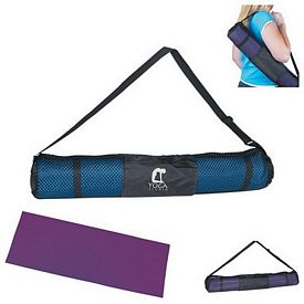 Custom Pvc Yoga Mat And Carrying Case