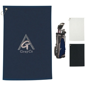Promotional Embroidered 100 Cotton Golf Towel