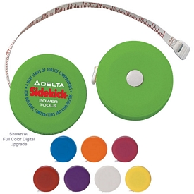 Promotional Tape-A-Matic Round Tape Measure
