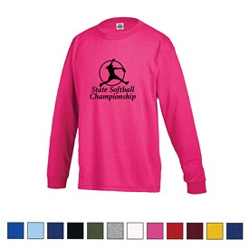 Customized Delta Pro Weight Youth Regular Fit Long Sleeve Tee