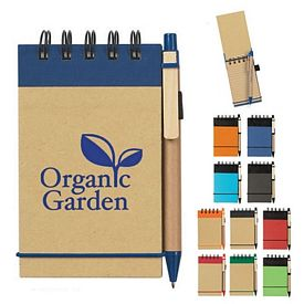 Promotional Eco-Friendly Spiral Jotten Pad And Pen