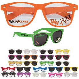Customized Full Color Printed On Lens Sunglasses