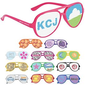 Promotional Dominator Full Color Lens Novelty Glasses