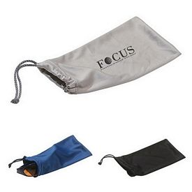 Promotional Sunglasses Microfiber Pouch With Drawstring
