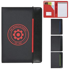 Promotional Color Pop 5X7 Padfolio