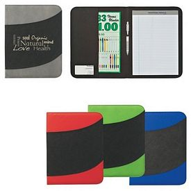 Promotional Nonwoven 8-1-2 X 11 Bubble Padfolio